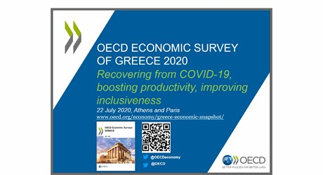 OECD Economic Survey of Greece 2020: Recovering from COVID 19, boosting productivity, improving inclusiveness