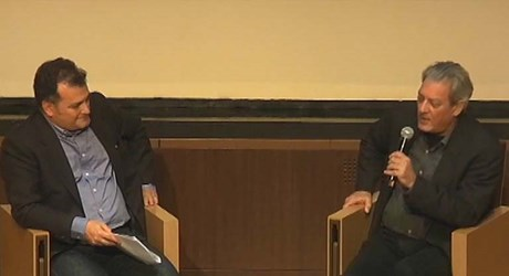 Paul Auster in conversation with Elias Maglinis