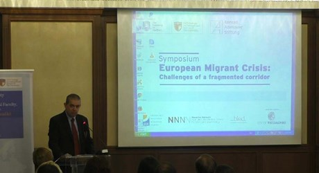 European Migrant Crisis: Challenges of a fragmented corridor (Symposium) - Εισαγωγικές ομιλίες