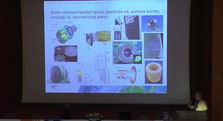Solar fuels production via high-temperature processes